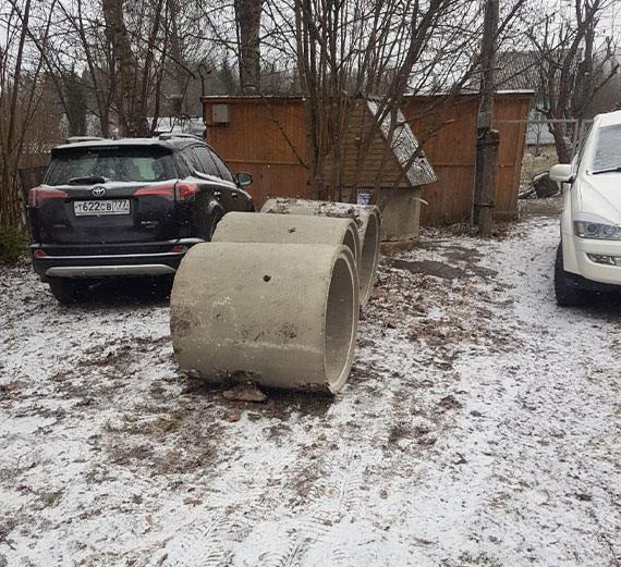 Углубление колодца в Одинцовском районе